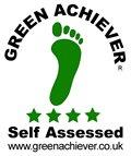 green achiever award logo