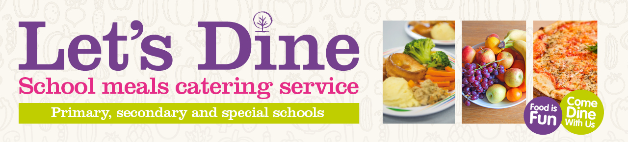 Let's Dine advertising banner